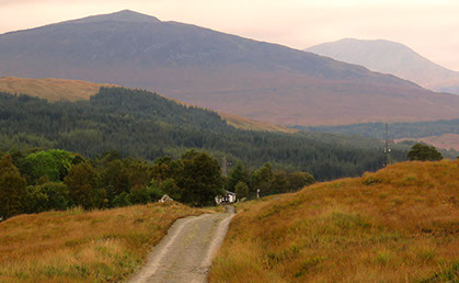 Taransay Cottage, Bridge of Orchy on the West Highland Way